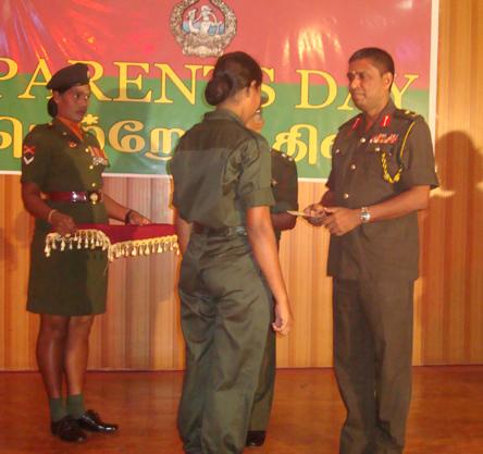 New Female Kilinochchi Army Recruits Get Their First Salary