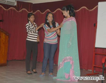 Gajaba Seva Vanitha Unit Marks the Universal Woman's Day With a Line