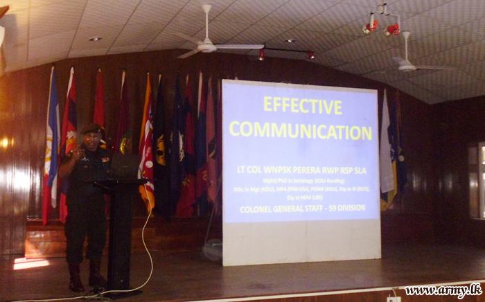 Training Day Presentations Held