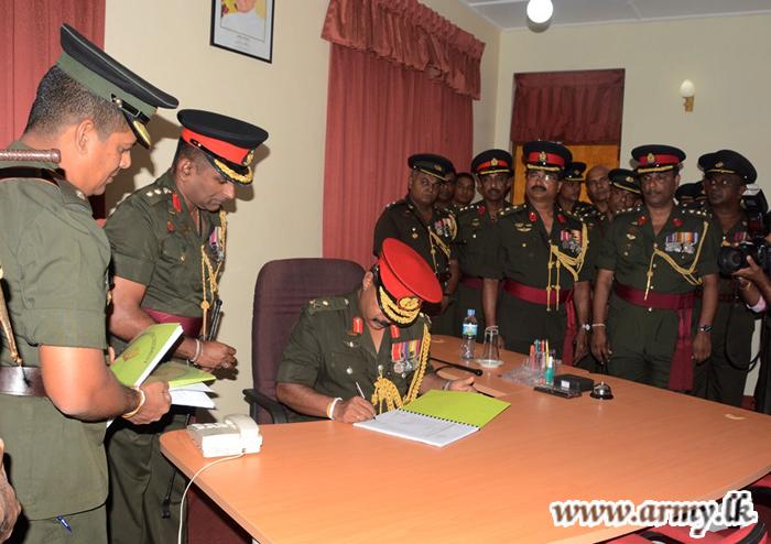New MIR Colonel of the Regiment Assumes Duties