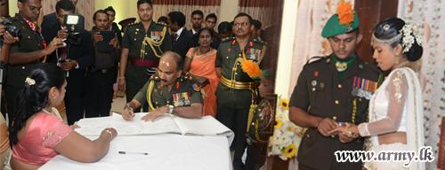 One more War Hero at Ragama Ties Nuptial Knots