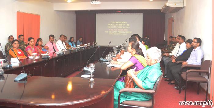 Foreign Service Delegates Visit Jaffna