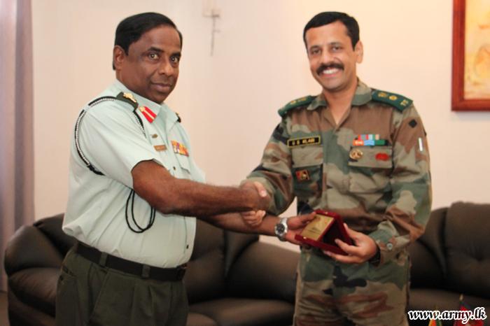 Indian Deputy Defence Advisor Visits SFHQ-J