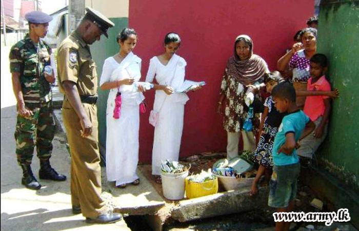 SFHQ-C Troops in Dengue Awareness Programme