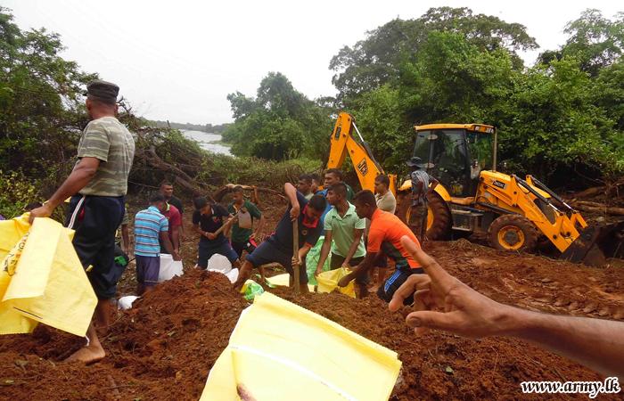 Kalaoya NCOs School Soldiers Avert Dam Breach Disaster