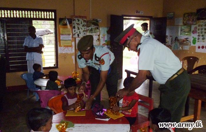 573 Brigade and 5 Sri Lanka Armoured Corps Continue Welfare Projects in Kilinochchi