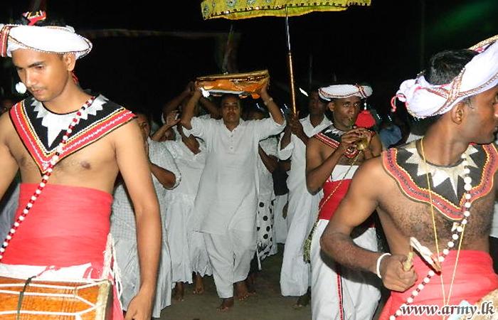 SFHQ - J Troops Assist 'Katina Pooja' at Navatkuly