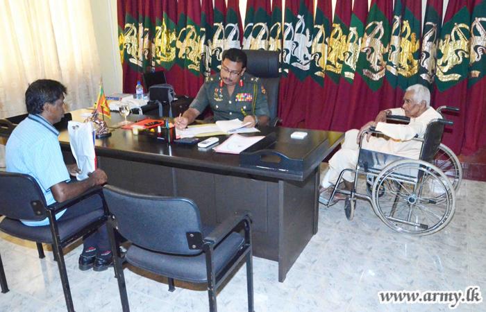 VIR fallen War Heroes' Families Receive Assistance