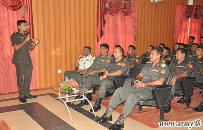 'Blissful Life in Army' Workshop held at Kilinochchi