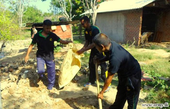 SFHQ Troops Launch 'Shramadana' Campaign