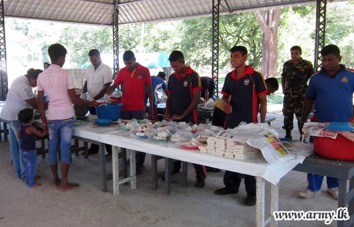 122 Brigade Organizes 'Dansela' for Kataragama Devotees