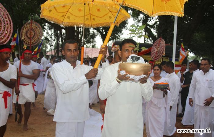 "SFHQ -"" KLN Temple Blessed with 'Sri Maha Bodhi' Sapling"
