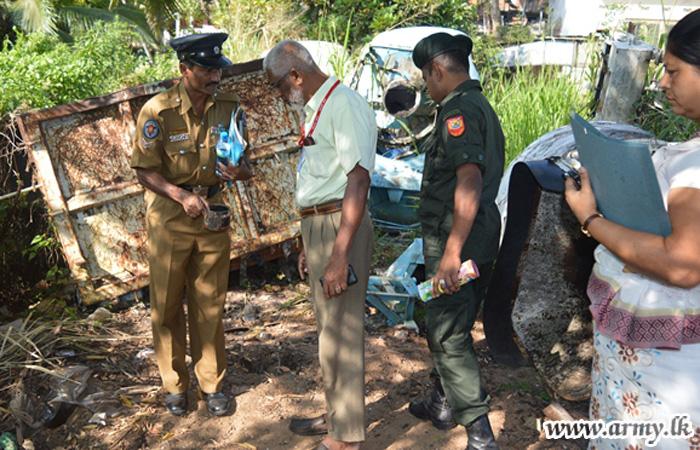 SFHQ - C Troops Assist Dengue Prevention Programme