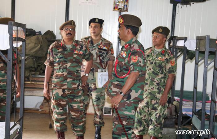 Kilinochchi Commander Visits Several Battalions