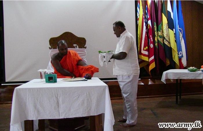 'Bodhi Pooja Pinkama' Held on Poya Day