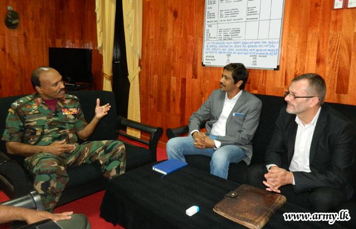 New ICRC Vavuniya Head Meets Wanni Commander
