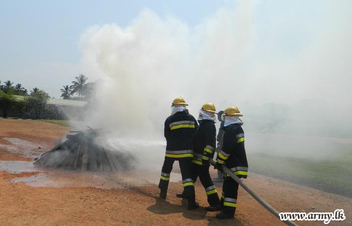 Fire-Fighting Demonstration Educates Kosgama Establishments