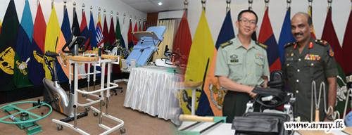 Chinese Government Donates Medical Equipment to 'Ranaviru Sevana'