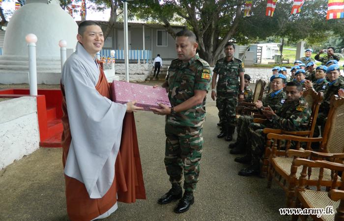 Sri Lankan & Korean Battalions in Lebanon Perform Religious Observances