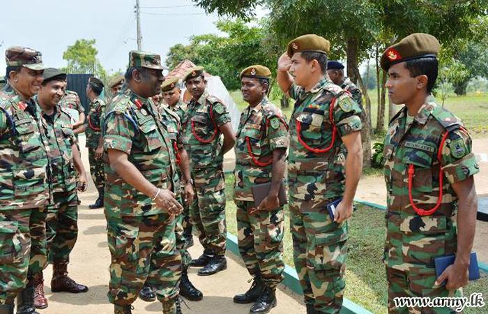 New SFHQ-East Commander Calls at 23 Div Hqrs & Brigades