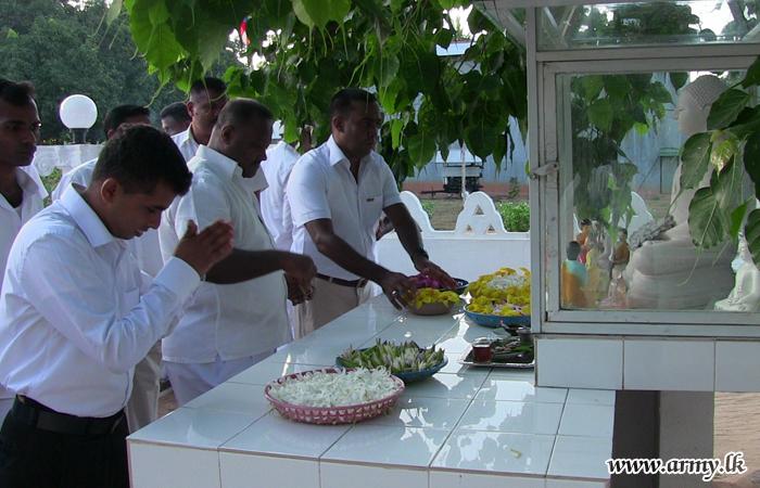 -œBodhi Pooja Pinkama- Held on Poya Day