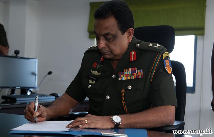 Major General Sumedha Perera, New DCOS Assumes Office