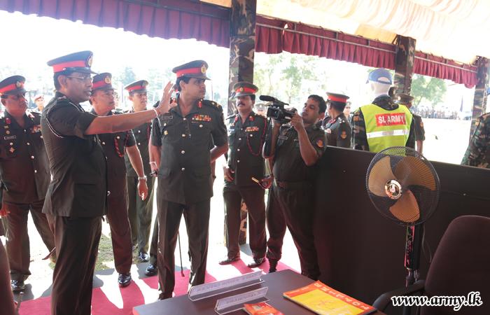 Combat Convoy Equipment for Overseas Assignments Inspected