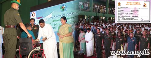 'Virusara' Privilege Cards in Phase - II Distributed at Saliyapura