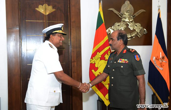 KDU New VC Meets Army Commander