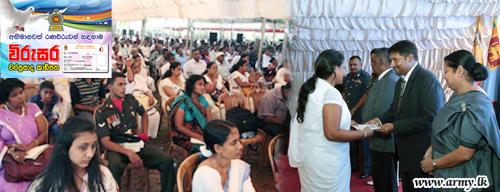 'Virusara' Privilege Card Goes to Ratnapura