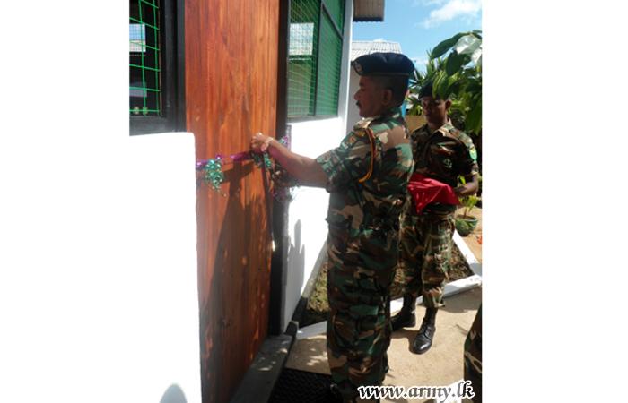 611 Brigade-Constructed ORs' Billet Opened