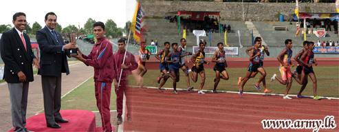 GW & 2 SLAWC Emerge Champions in 19th Army Novices Athletics Meet