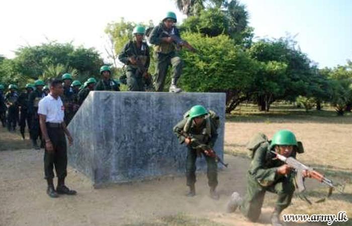 55 Division Troops Undergo Training