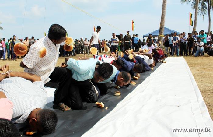 Jaffna Troops Celebrate New Year