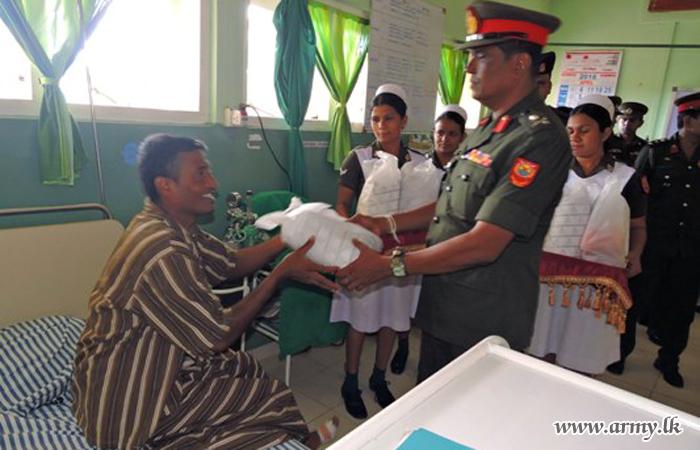 Central Commander on Hospital Visit