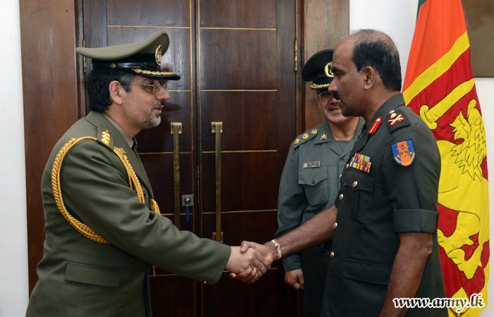 New Iranian Military Attaché Calls on Commander