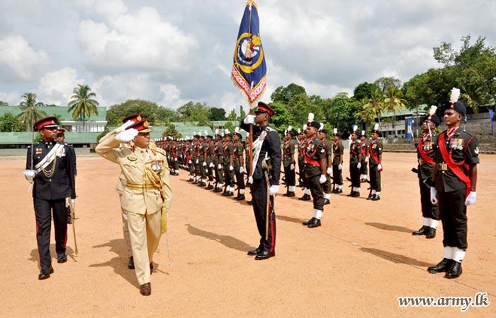 Major General Prasanna Silva Bids Goodbye to His Regiment