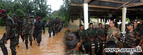 UPDATE: Commander Speaks to His Troops at Work in Aranayake