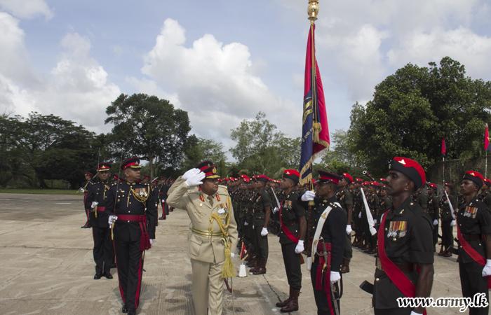 New SLA Colonel Commandant Assumes Duties