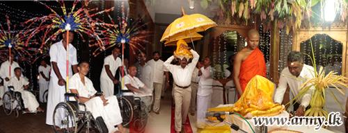 Religious Ceremonies Invoke Blessings on 'Mihindu Seth Medura' 5th Anniversary