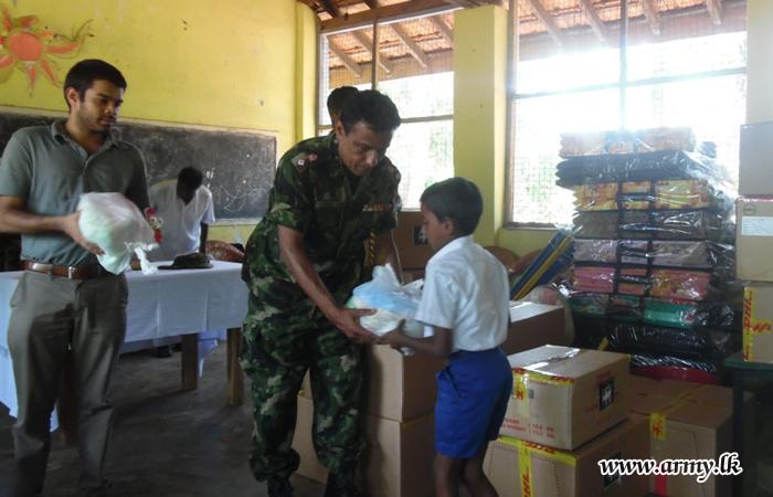 Kalaoya CAVT Coordinates Flood Relief Supplies
