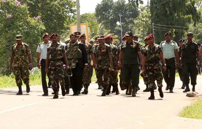 State Defence Minister Visits Kosgama Blast Site