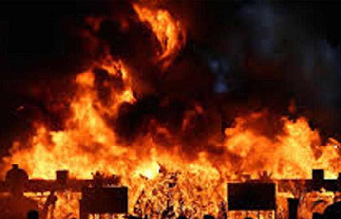 Explosion at Kosgama Salawa Ammunition Storage