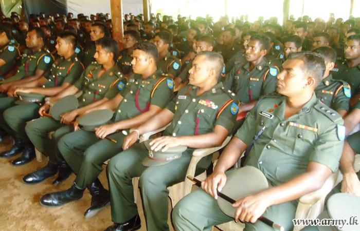 GR & VIR Troops Learn on 'Disaster Management'
