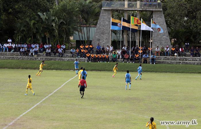 Army Beat SLAF in DSG Women's Soccer Final