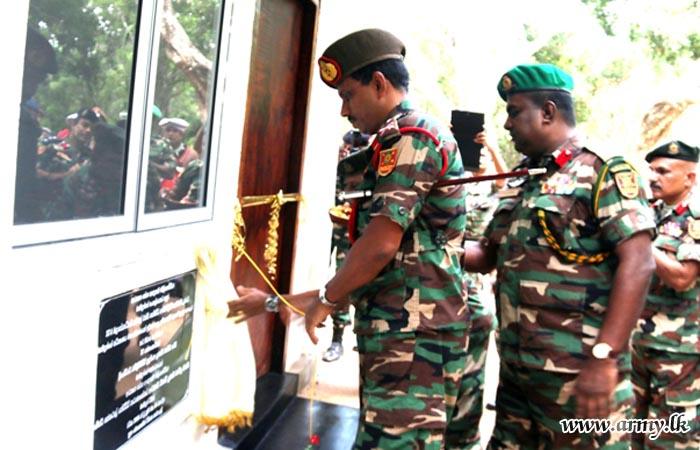 Ampakamam Battalion Training School Gets New Accommodation Building
