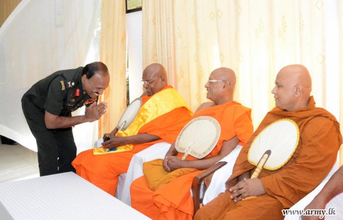 Buddhist Monks Visit Resettled Villages