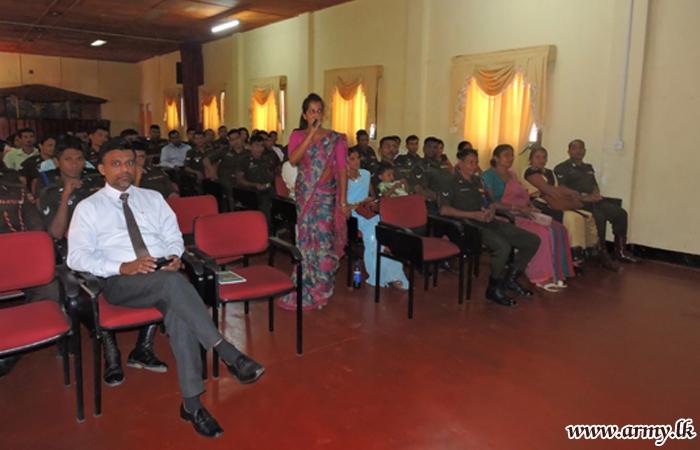 Army Personnel Educated on Importance of 'Surakimu Sonduru Pawula'