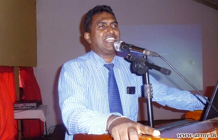 Hambantota Troops Educated on STD