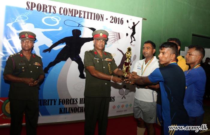 Kilinochchi Troops Participate in Tournaments